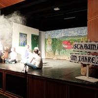 A Solymári színházteremben