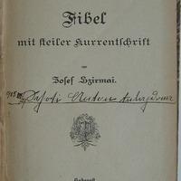 Első német ABC-s könyvünk