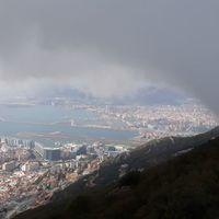 Andalúz nemCamino körutazás 6. nap Gibraltár