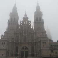Portugál Camino 2018. 23. nap: A Picarana - Santiago de Compostela (16,4 km)