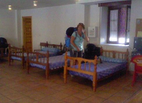 Itero de la Vega albergue szoba_1.jpg