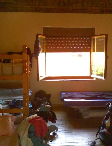 El Burgo Ranero albergue szoba.jpg