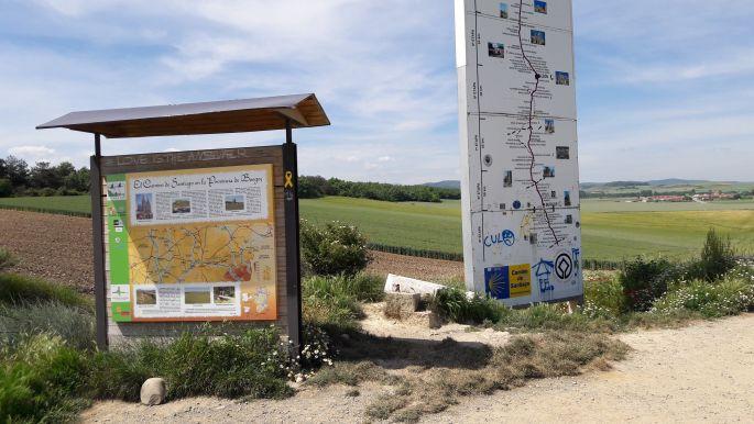El camino, Kasztília - León autonóm körzet határa