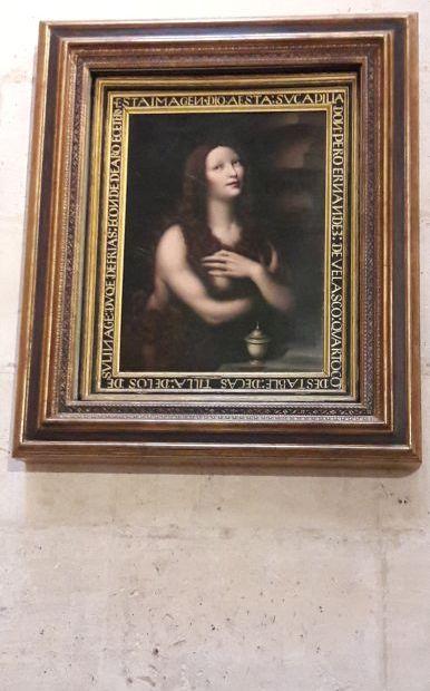 El camino, Burgos, katedrális, Leonardo da Vinci és Giovan Pietro Rizzoli: Santa Maria Magdalena