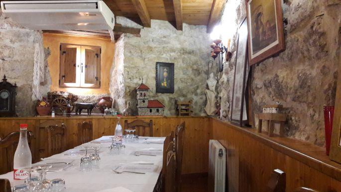 El camino Hontanas, az albergue étkezője