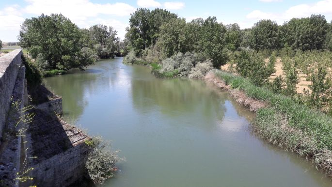El camino, híd a folyó felett