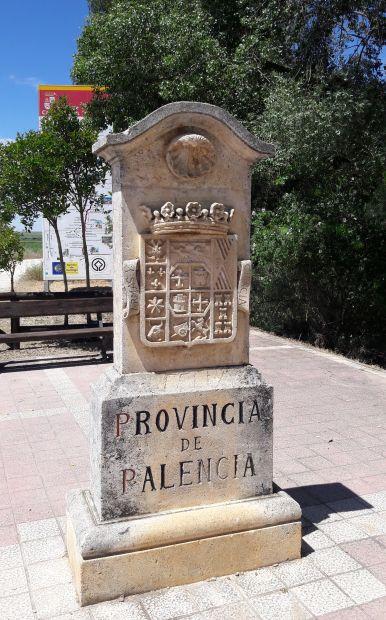 El camino, Palencia tartomány határköve