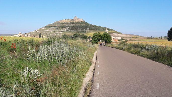 El camino, úton Castrojeriz felé