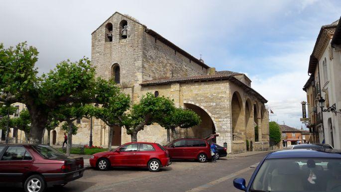 El camino, Carrion de los Condes, templom