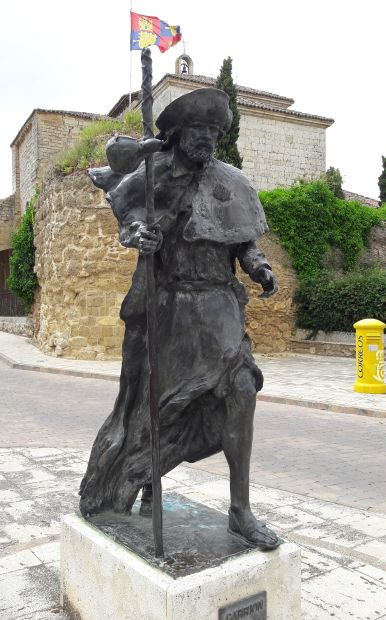 El camino, Carrion de los Condes, zarándok szobor