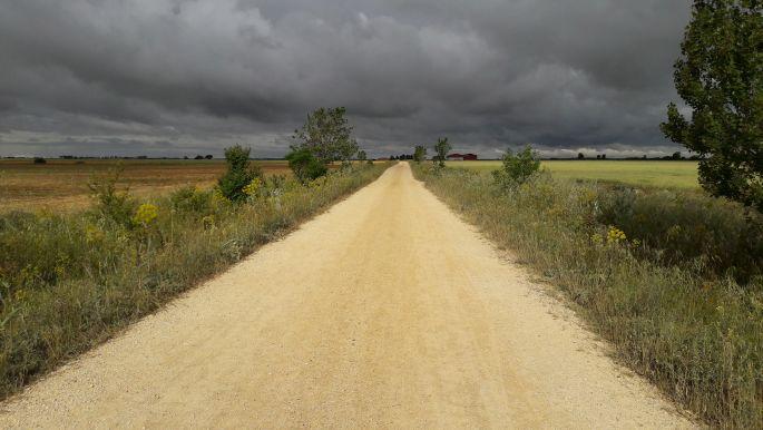 El camino, viharfelhők a Mesetán