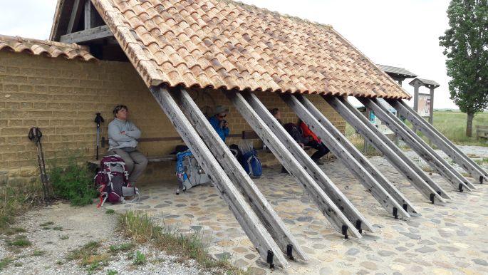 El camino, pihenőhely a Mesetán