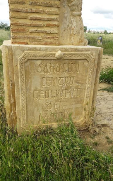 El camino, Centro Geografico del Camino - az út földrajzi középpontja