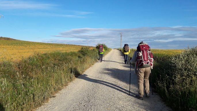 El camino út, Quechua hátizsákokkal