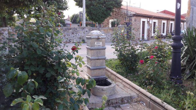 El camino, az a bizonyos kút Murias de Rechivaldo egyik utcájában.