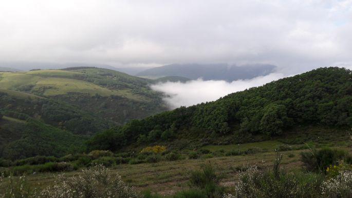 El camino, a felhők felett járunk
