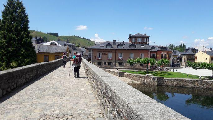 El camino, Molinaseca híd