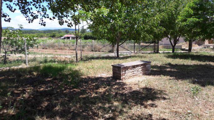El camino, Cacabelos után, igen ez is ott van a pad környékén