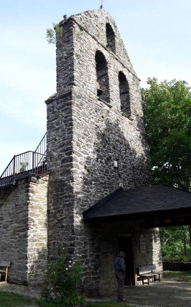 El camino, La Faba, az  albergue melletti kápolna