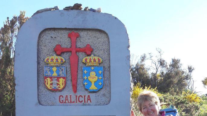 El camino, galíciai határkő