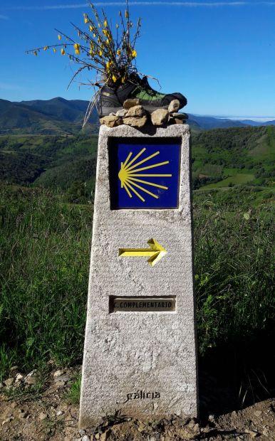 El camino, útjelző kő