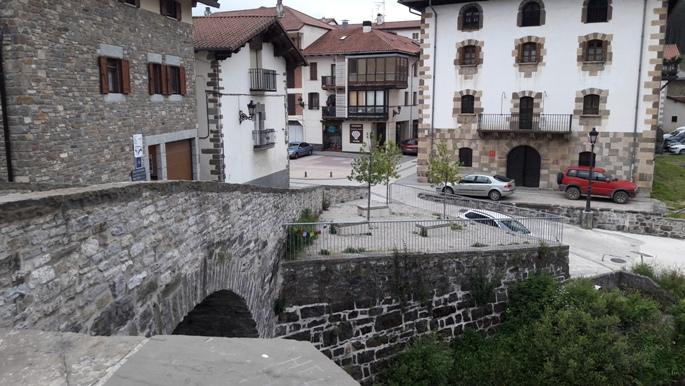 El camino, Zubiri híd.