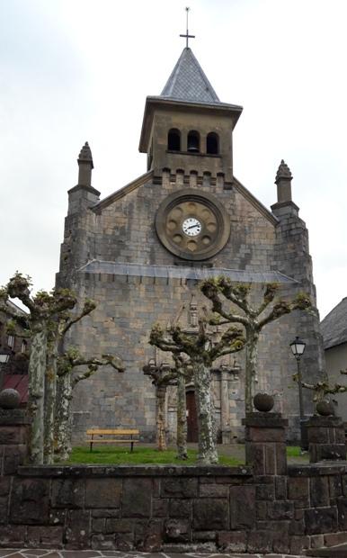 Auritz, templom