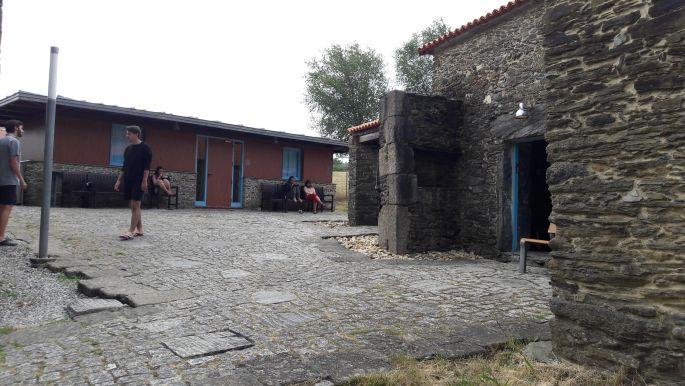 El camino, Ribadiso da Baixo, az albergue