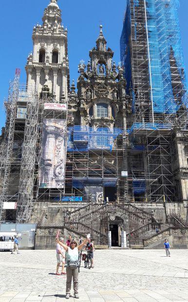 El camino, Santiago de Compostela, a katedrális és Erika