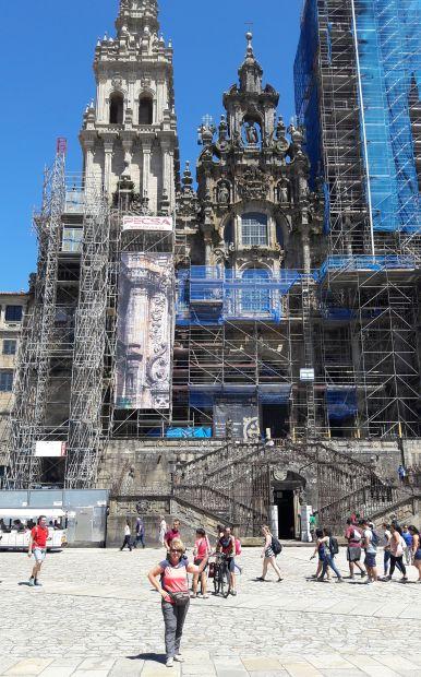 El camino, Santiago de Compostela, a katedrális és én