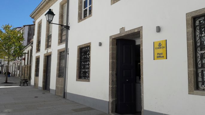 El camino, Santiago de Compostela, a posta bejárate