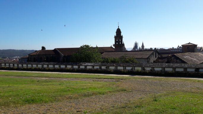 El camino, Santiago de Compostela, az a bizonyos park a város felett