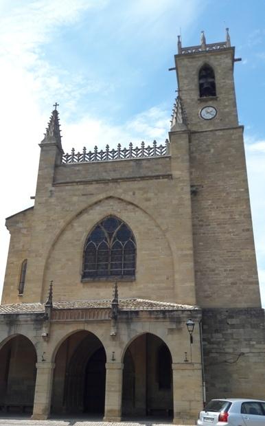 El camino, Puente la Reina, templom.