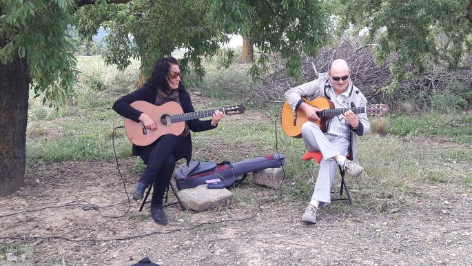 El camino spanyol gitárosok