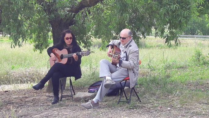 El camino spanyol gitárzene