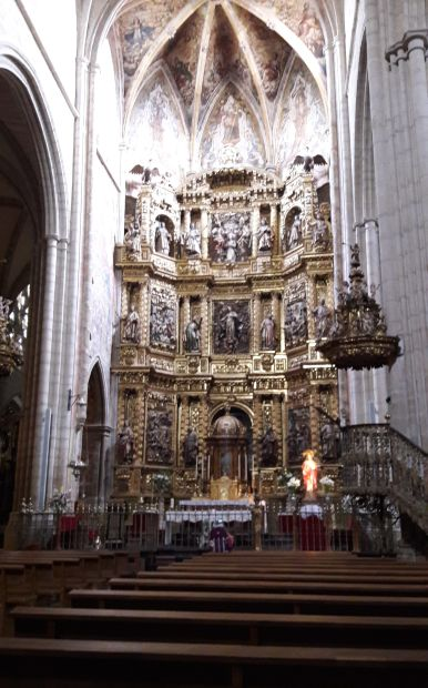 Viana templom