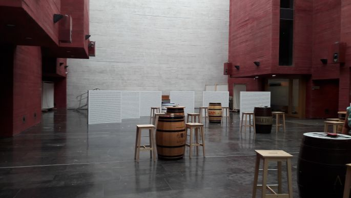 Logrono, kulturális központ...