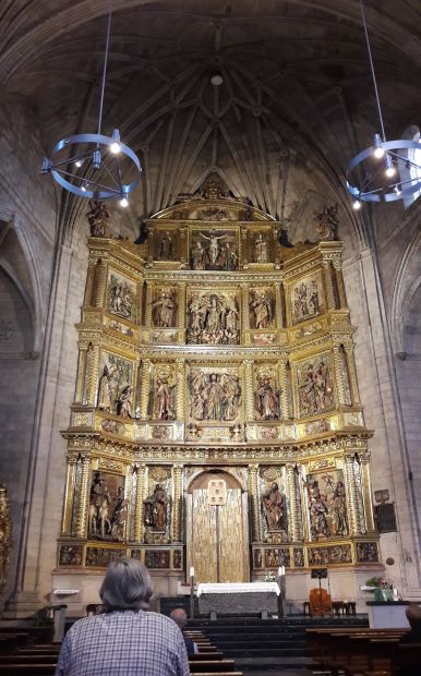 Logrono, templom.