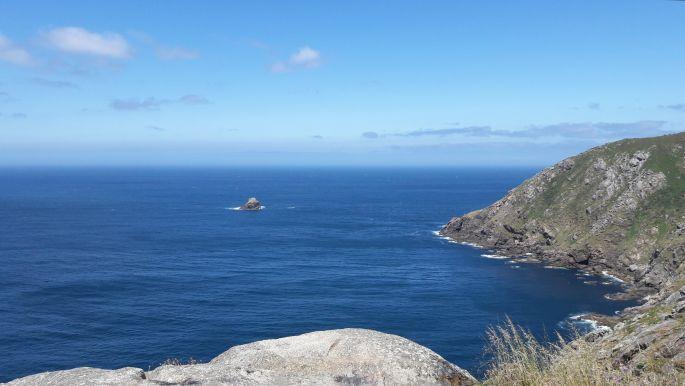 El camino, Finisterre, a végtelen óceán