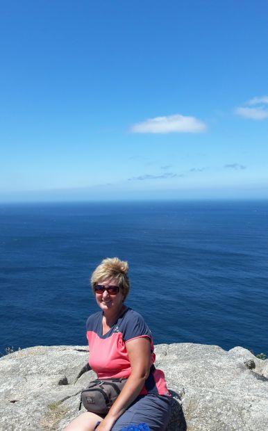 El camino, Finisterre, a végtelen óceán és én