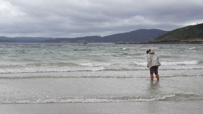 El camino, Muxia, óceán és Erika, a kis hableány