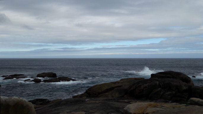 El camino, Muxia, óceán