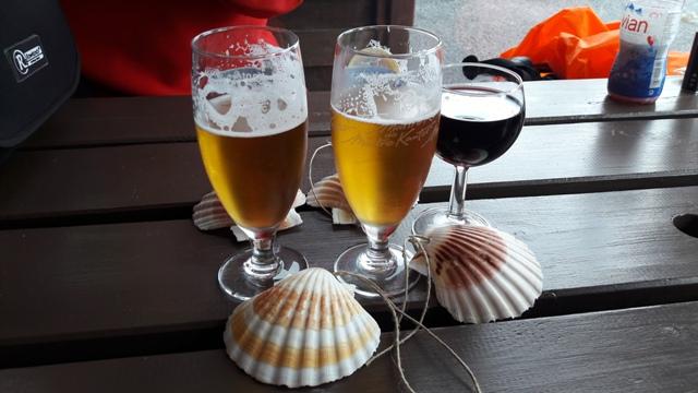Lazulás sörrel, borral, kagylóval :-)