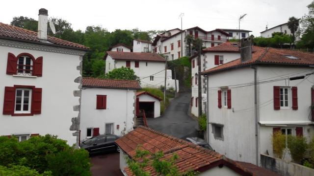 Szép kis települések Saint Jean felé félúton