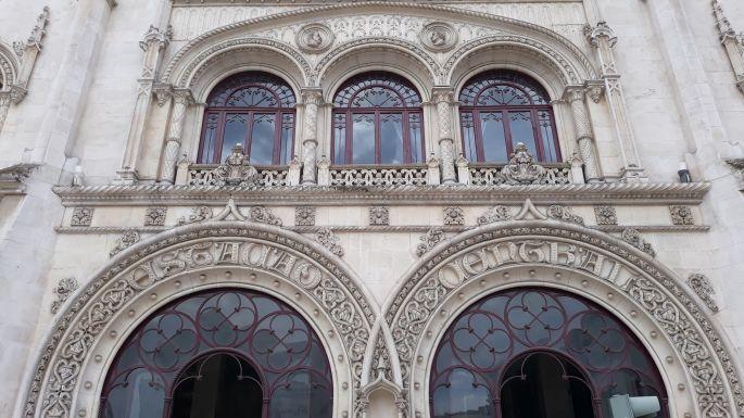 Lisszabon, Rossio pályaudvar