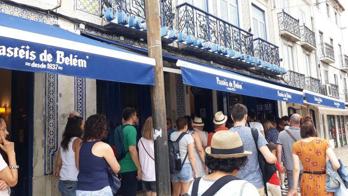 Lisszabon, Pastéis de Belém cukrászda
