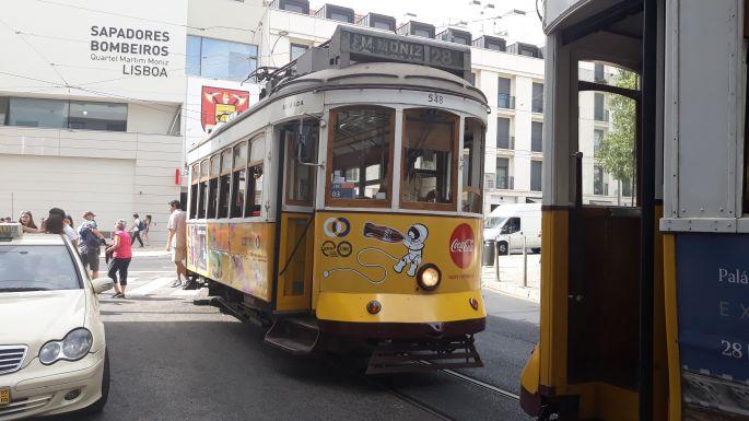 Lisszabon, 28-as villamos