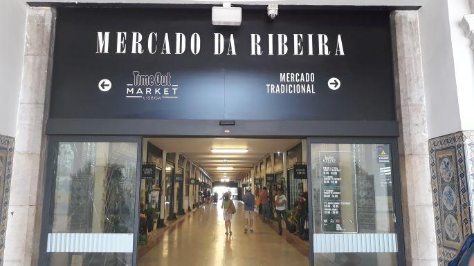 Lisszabon, Mercado da Ribeira, piac