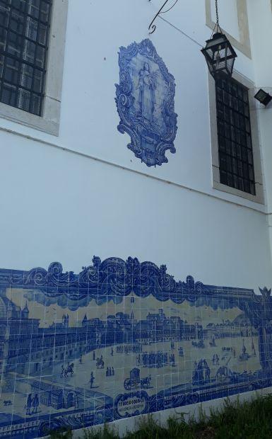 Lisszabon, templom ajuleóval