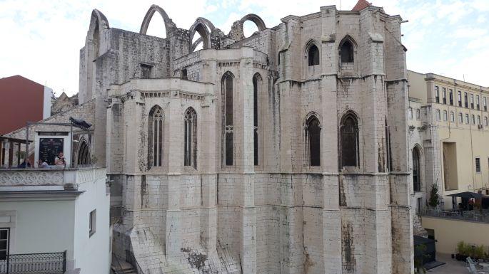 Lisszabon, Convento do Carmo